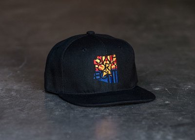 State Forty-Eight Snapback Classic | Black SFE Flag
