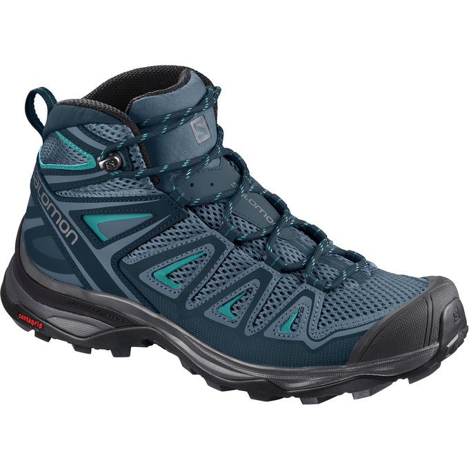 Salomon X Ultra Mid Aero Women's Hiking Shoes JR1SaXUMA