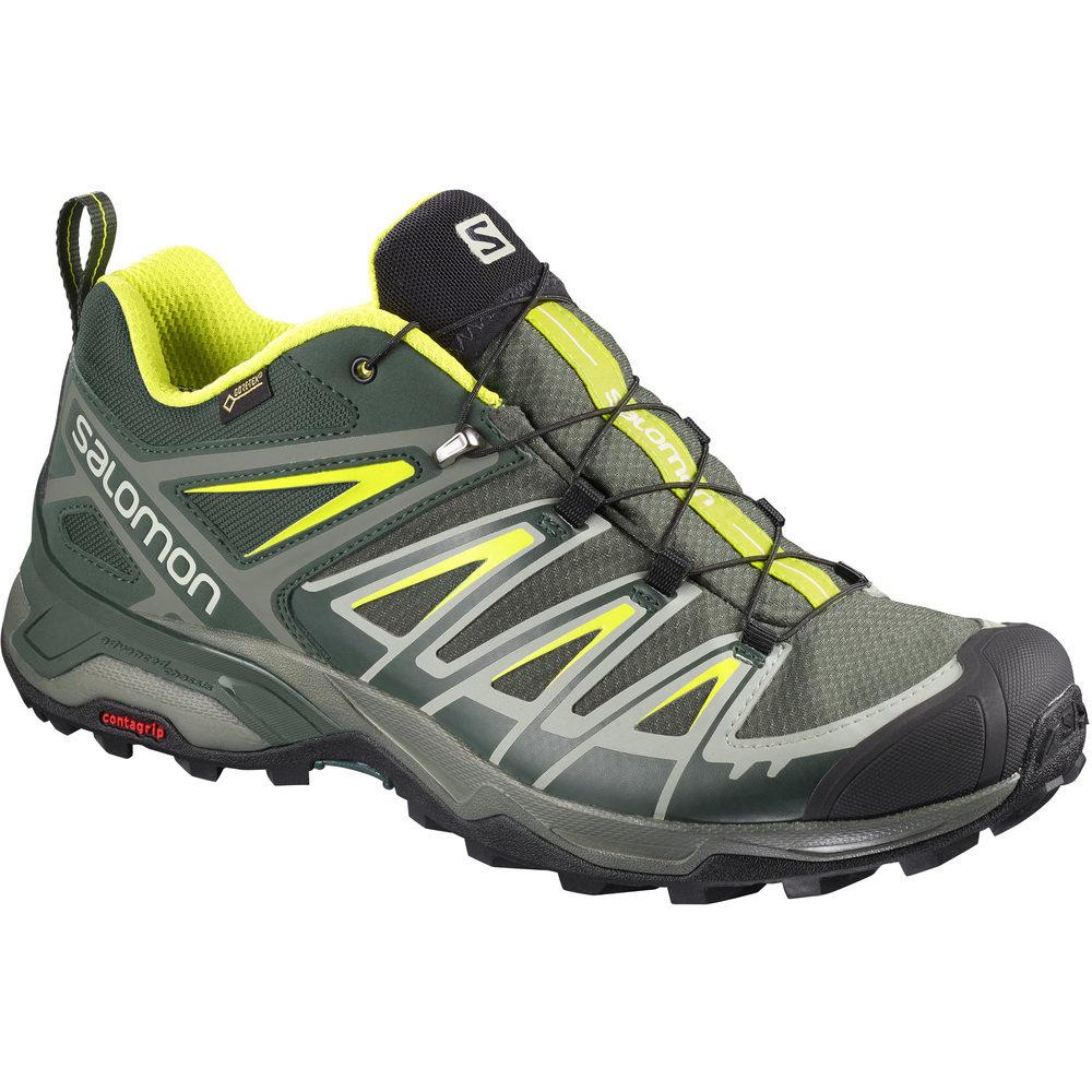Salomon X Ultra 3 GTX Men's Hiking Shoes JR1SaUGTX