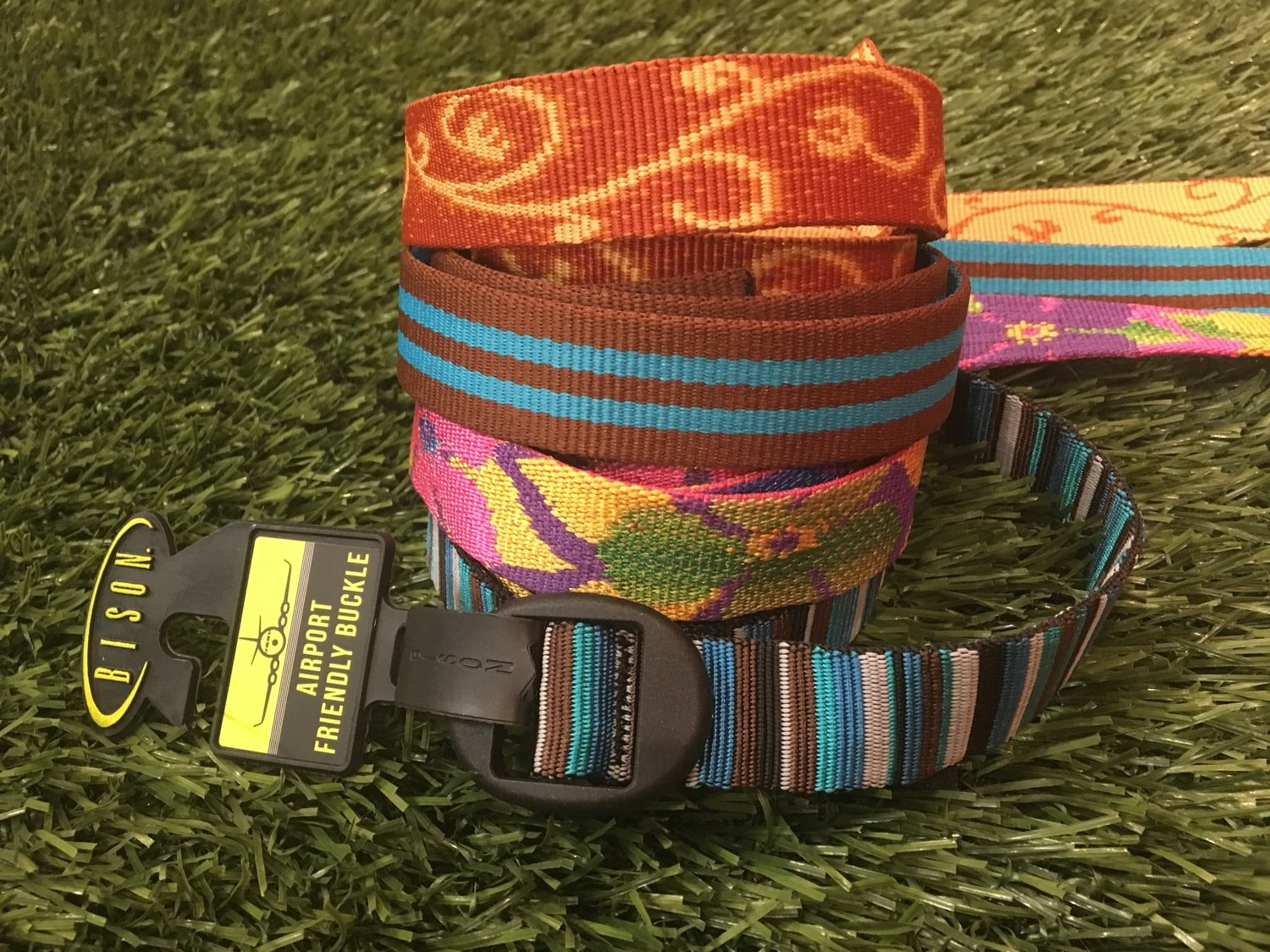 Bison Designs Airport Friendly Ellipse Belt