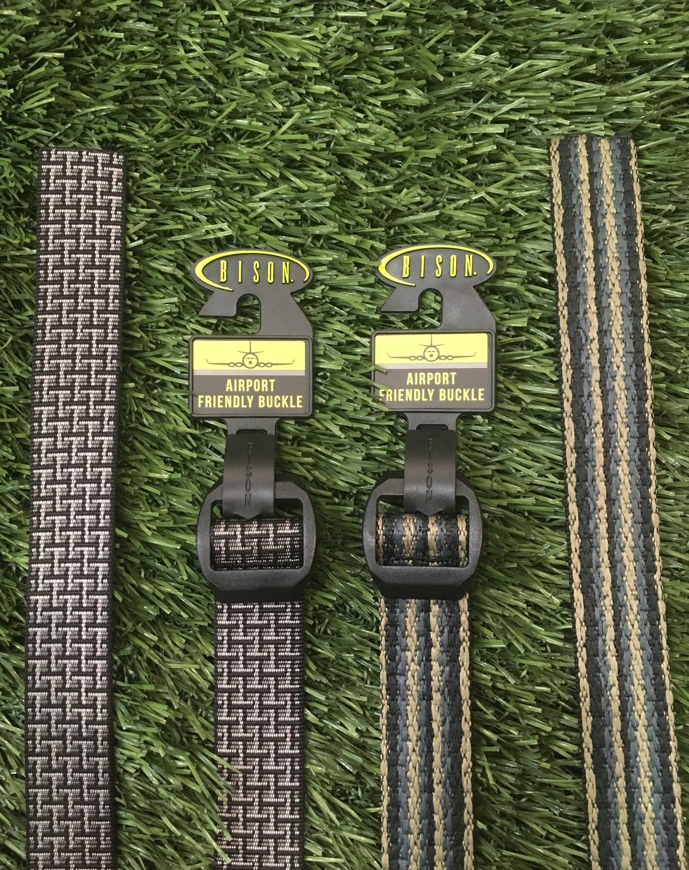 Bison Designs Airport Friendly Elliptagon Belt - 30mm