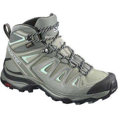 Salomon X Ultra 3 Mid GTX W Shadow Castor Grey Beach