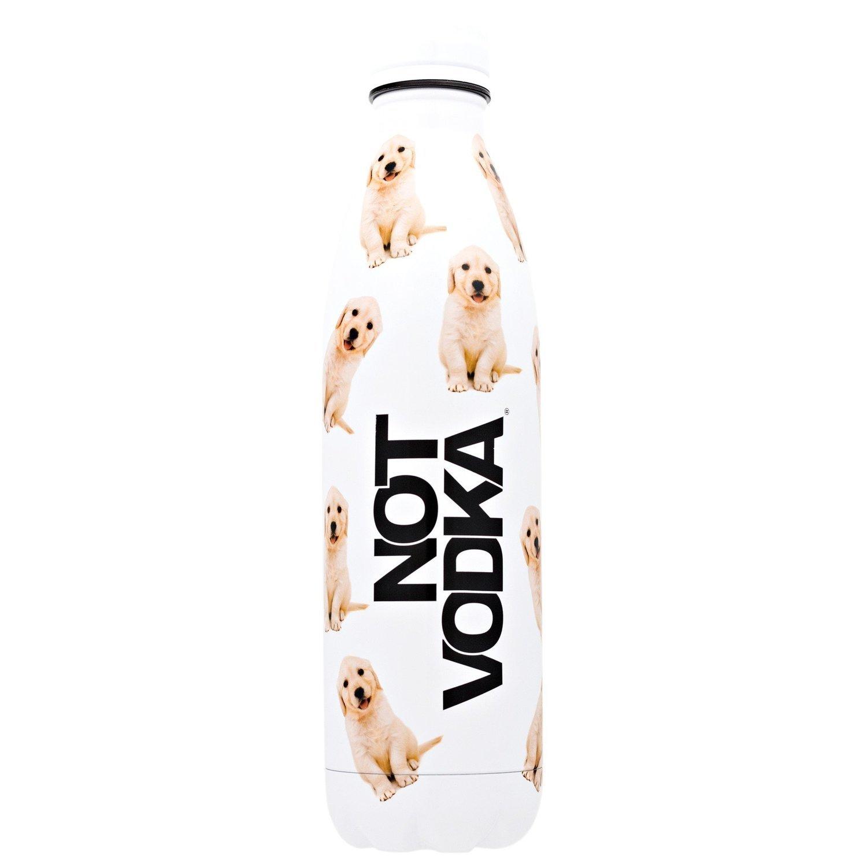 Not Vodka Bullet Bottle- Golden Puppies