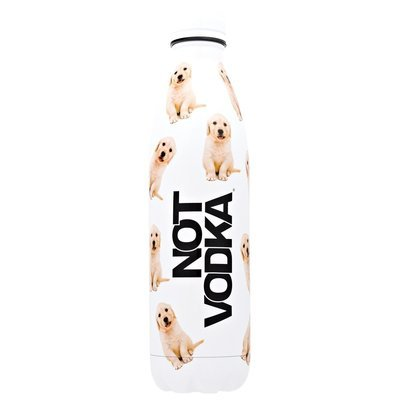 Not Vodka Bullet Bottle- Golden Puppies