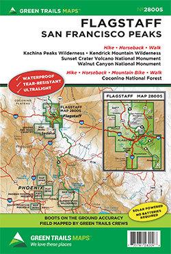 Green Trails Maps: Flagstaff - San Francisco Peaks