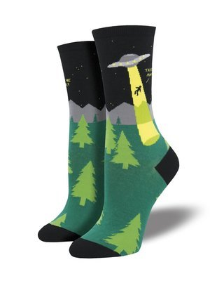 Sock Smith Alien Abduction Women's Socks