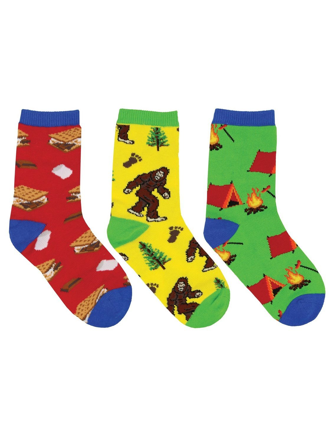 Sock Smith Gone Camping 3-Pack Kid's Socks