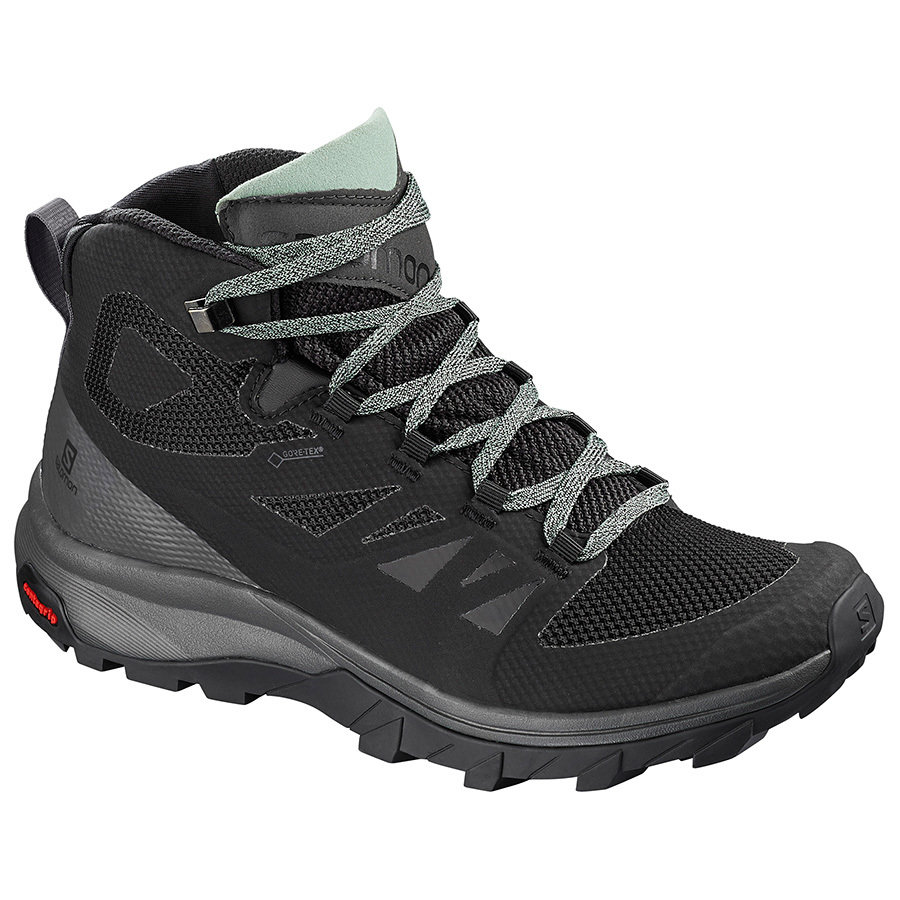 Salomon OUTline Mid GTX Women's Hiking Shoes JRI1SOUTW