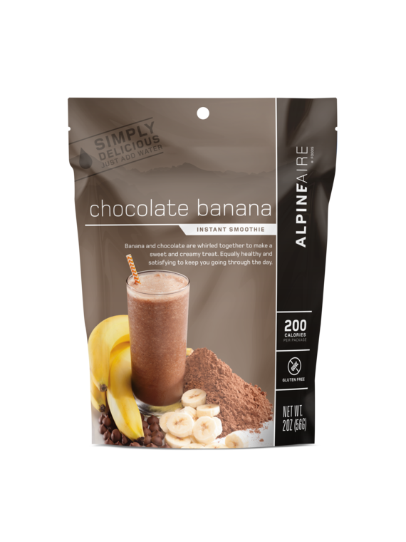 Alpineaire Foods Chocolate Banana Smoothie