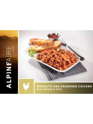 Alpineaire Foods Mesquite BBQ Seasoned Chicken