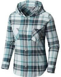 Mountain Hardwear Acadia Stretch Hooded Long Sleeve Shirt