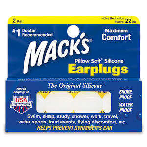 Mack's Pillow Soft Silicone Putty Earplugs