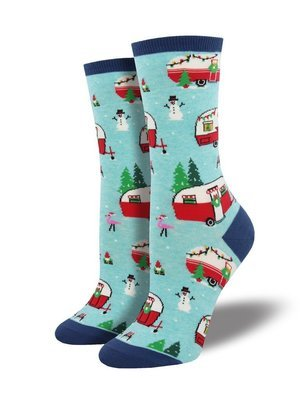 Sock Smith Christmas Campers Women's Socks