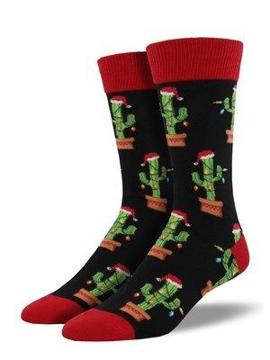 Sock Smith Christmas Cactus Men's Socks