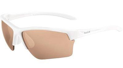 Bolle Flash - Matte White Modulator V3 Golf Oleo AF