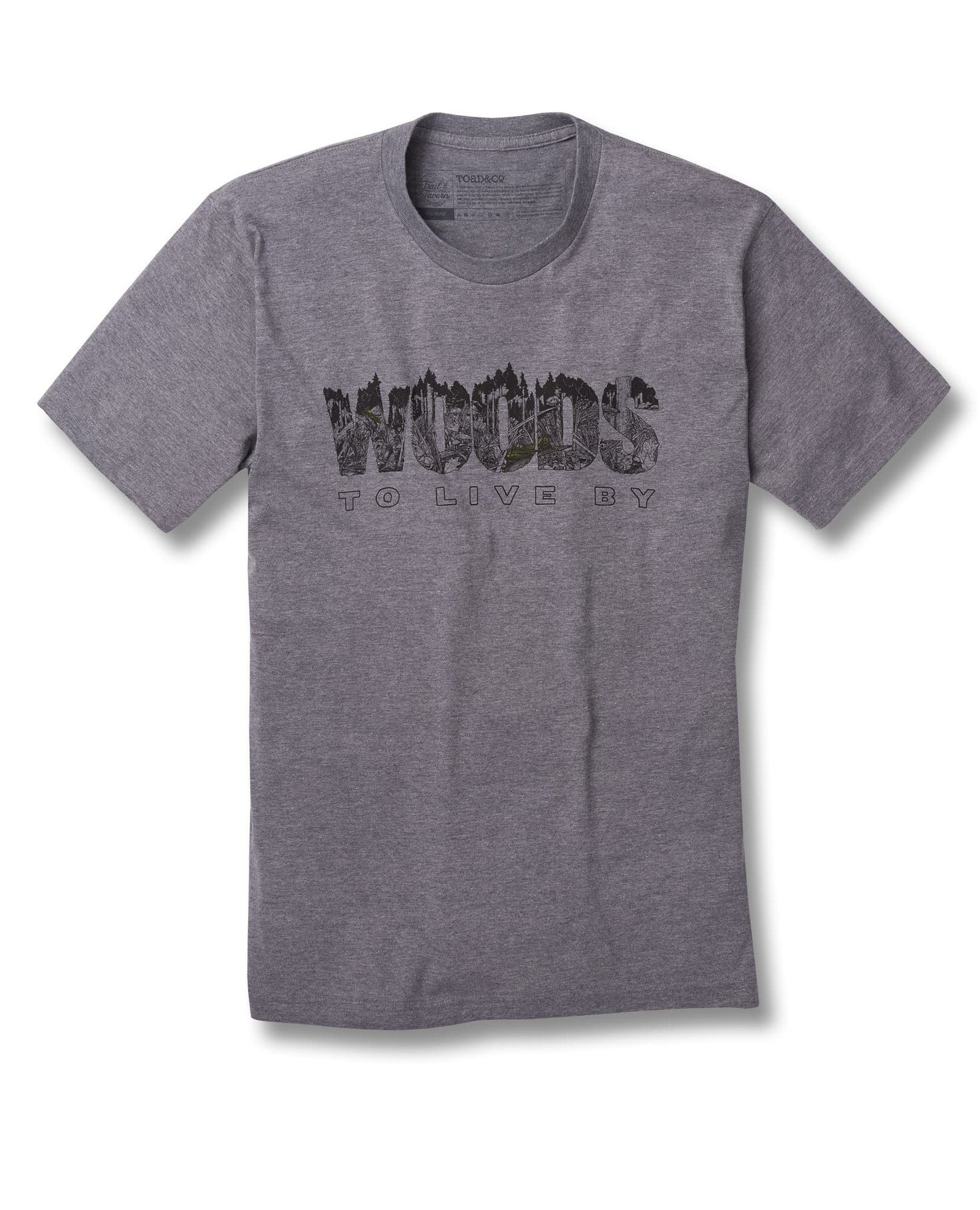 Toad&Co Woods To Live By Graphic Tee JRI1TCWOODS