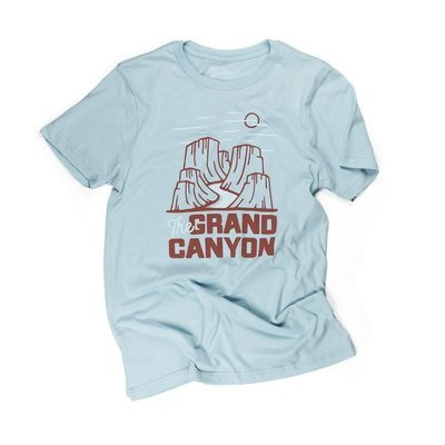 Landmark Project Grand Canyon National Park Motif Unisex Tee