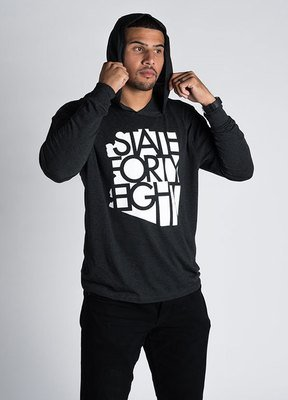 State Forty-Eight Unisex Tri-Blend Pullover Hoodie Classic
