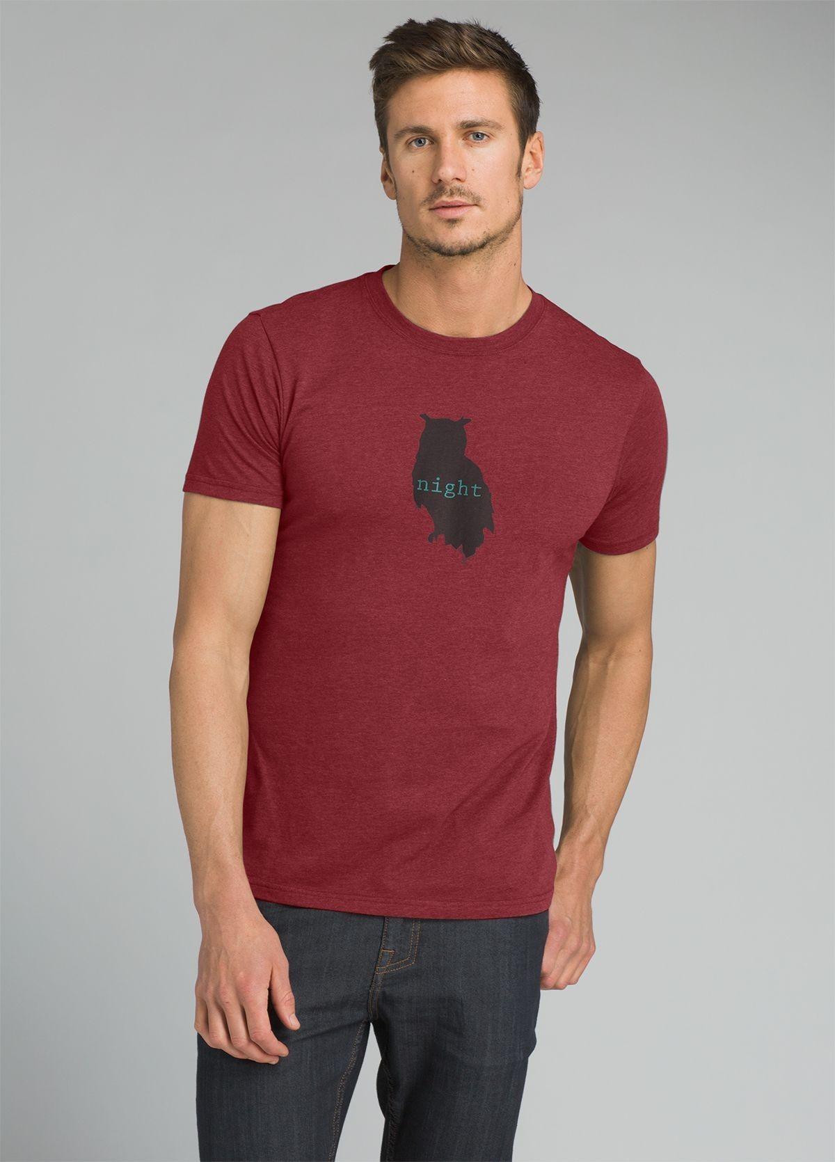 prAna Night Owl Journeyman Tee Shirt JRI1PNOWL