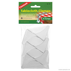 Coghlan's Tablecloth Clamps - 6 Pack