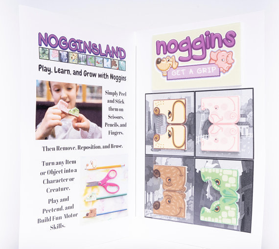 Noggins Animal Activity Set