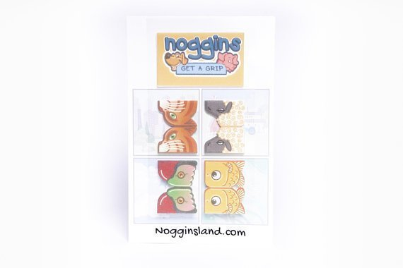 Noggins 4-Pack Stickers 00003