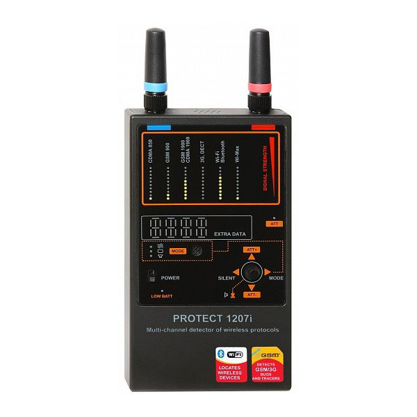iProtect Multi-Channel Detector for Wireless Protocols