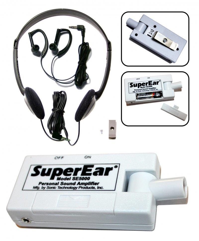Super Ear Personal Sound Amplifier KJB-SE5000