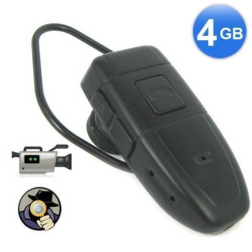 4GB Bluetooth Style Spy Camera DVR Covert Video Recorder 1.3 Megapixels 640*480 BC520053CSC