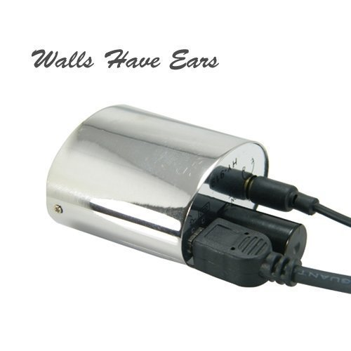 HY-919 Powerful Audio Spy Listening Device Spy Bug with earphones Wall Have Ears