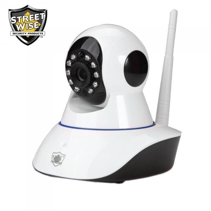 IP Wireless Camera w/ Pan & Tilt