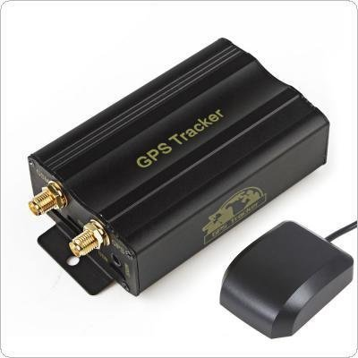 Global GPS Vehicle Tracking System Device With Movement and Speed Alert