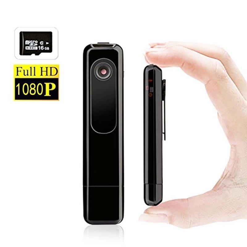 HD 1080P USB Digital Voice Recorder with Hidden Camera/Camcorder Black