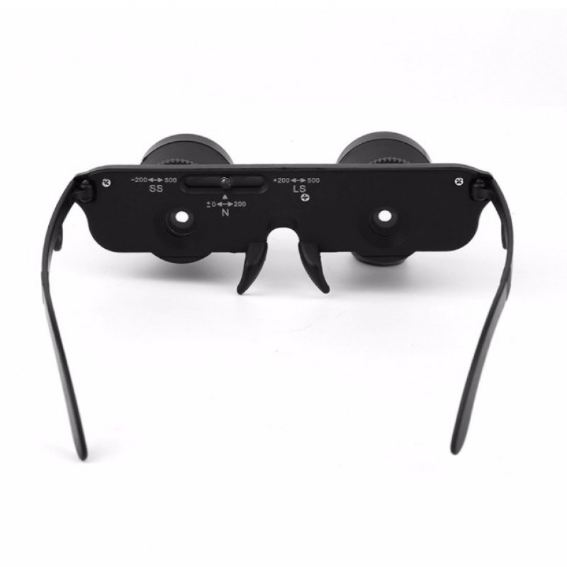 3X28mm HD Head-Mounted Binocular Telescope Optic Glasses Goggles Magnifier