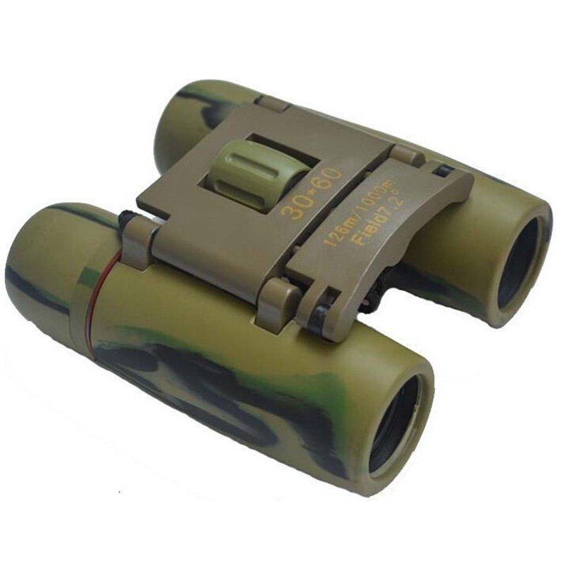 Sakura 30*60 Mini Fold Camouflage Binoculars Telescope Blue Film TM86022233