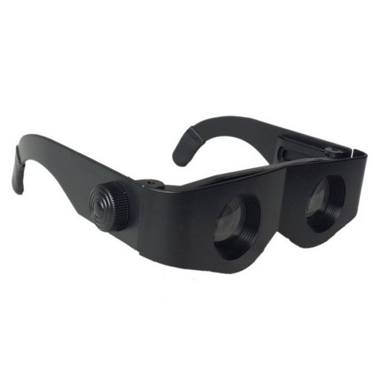 Portable Glasses Style Magnifier Telescope Binoculars Tools For Fishing Hiking etc