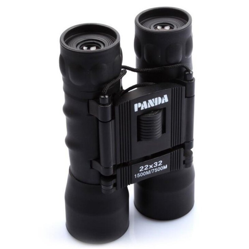 PANDA 22X32 Zoom High Magnification Binoculars Outdoor Telescope Black TM86022222