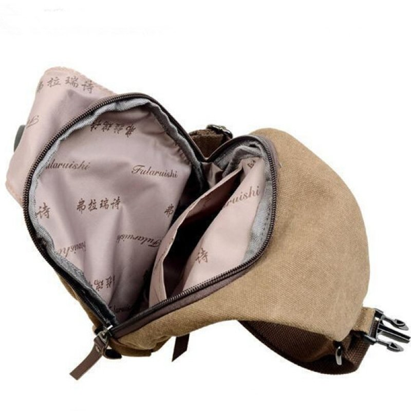 Canvas Sling Bag - Khaki & 30 x 60 Compact Folding Night Vision Binoculars