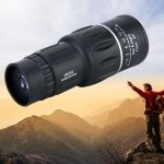HaleBor 35X50 HD Monocular Telescope Spotting Scope Outdoor Binoculars Built-in Compass