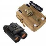 1000D Oxford Military Tactical Waist Bag & Compact Folding Night Vision Binoculars TMBD106557