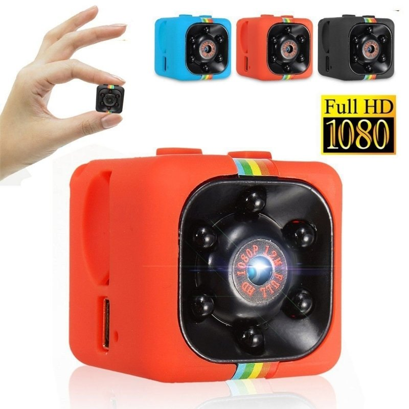 SQ11 Full HD 1080P Mini DV DVR SPY Camera Dash Cam IR Night Vision Red TM86034518