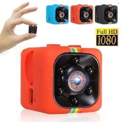 SQ11 Full HD 1080P Mini DV DVR SPY Camera Dash Cam IR Night Vision Red
