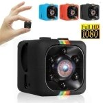 SQ11 Full HD 1080P Mini DV DVR Camera Dash Cam IR Night Vision - Black TM86034400