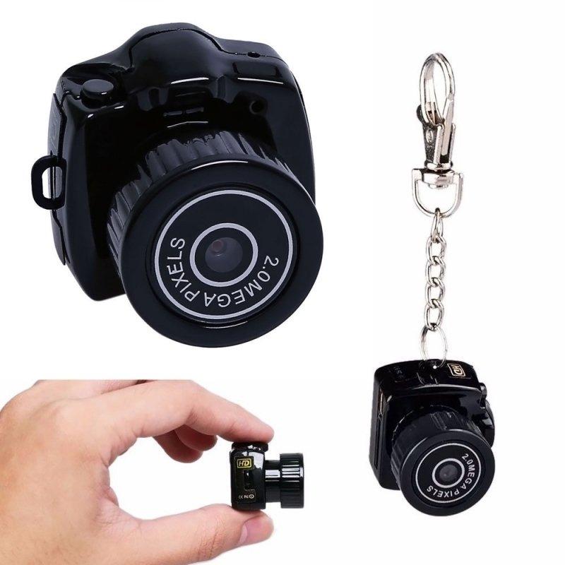Y2000 Smallest Camera HD Digital Video Recorder DVR Black TM86007330