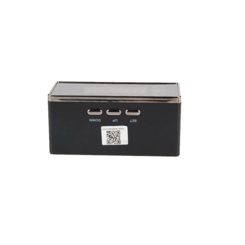 Spy HD 1080P Wireless WiFi Hidden Security Camera Clock US plug Black