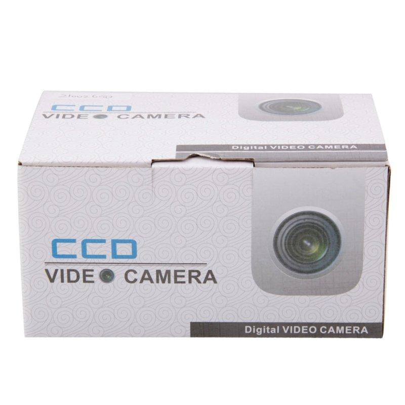 "1/3"" CCD 650TVL 1-IR LED Metal Security Surveillance Camera White"