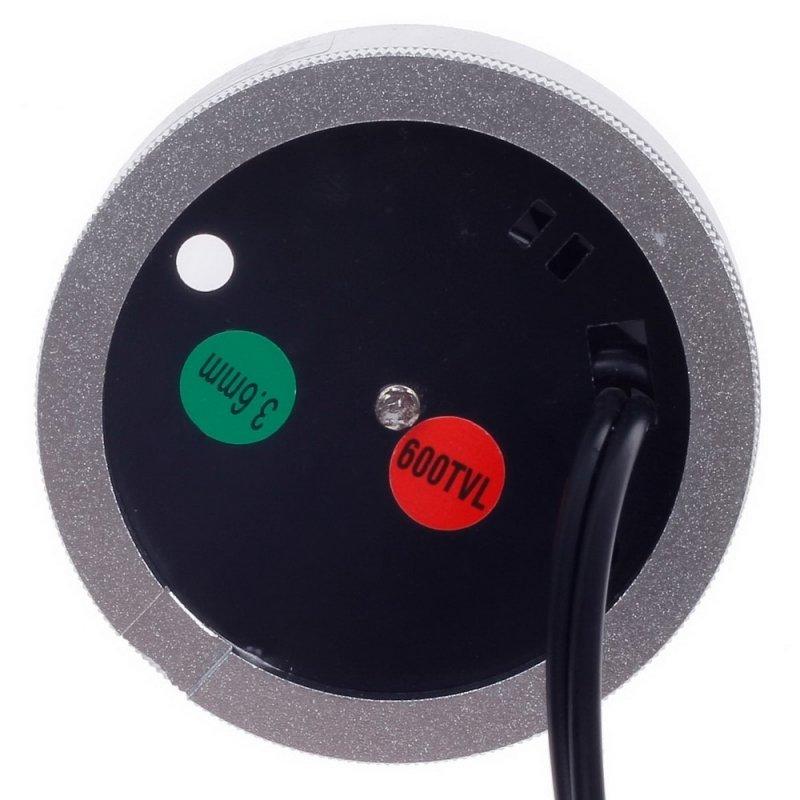 "1/3"" CCD 600TVL Surveillance Dome Camera Silver + Black Paisan PS-2403CF"