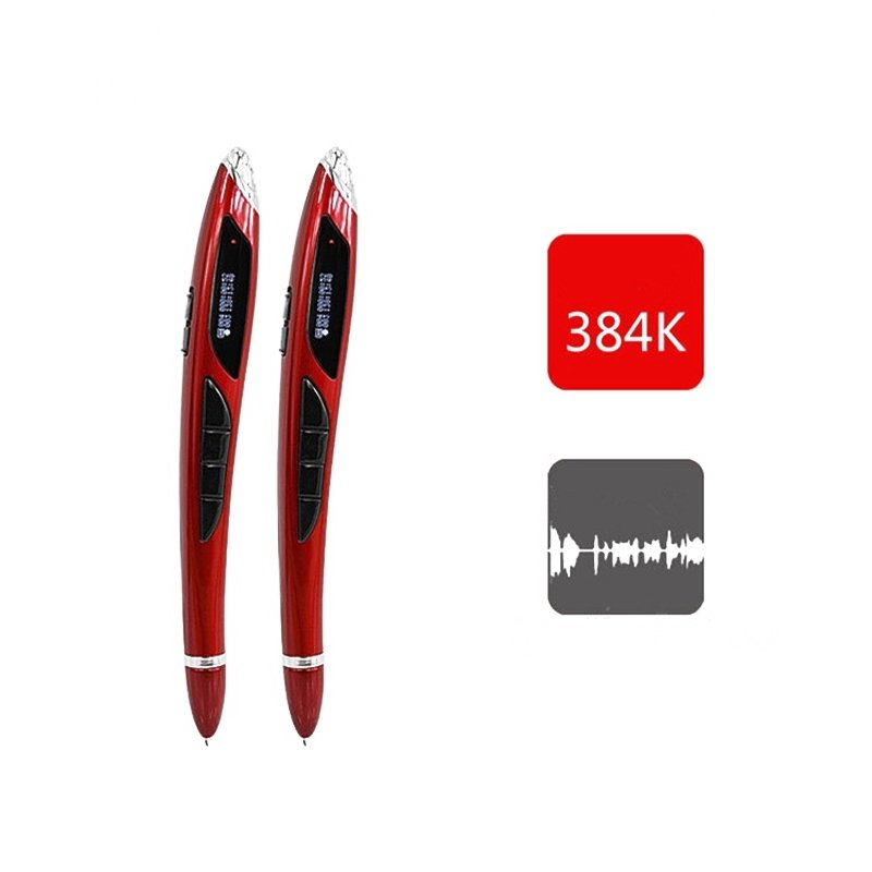 4-in-1 Multifunction 16GB Digital Business X5 Voice Recorder MP3 Player U Disk Voice Recording Pen Red