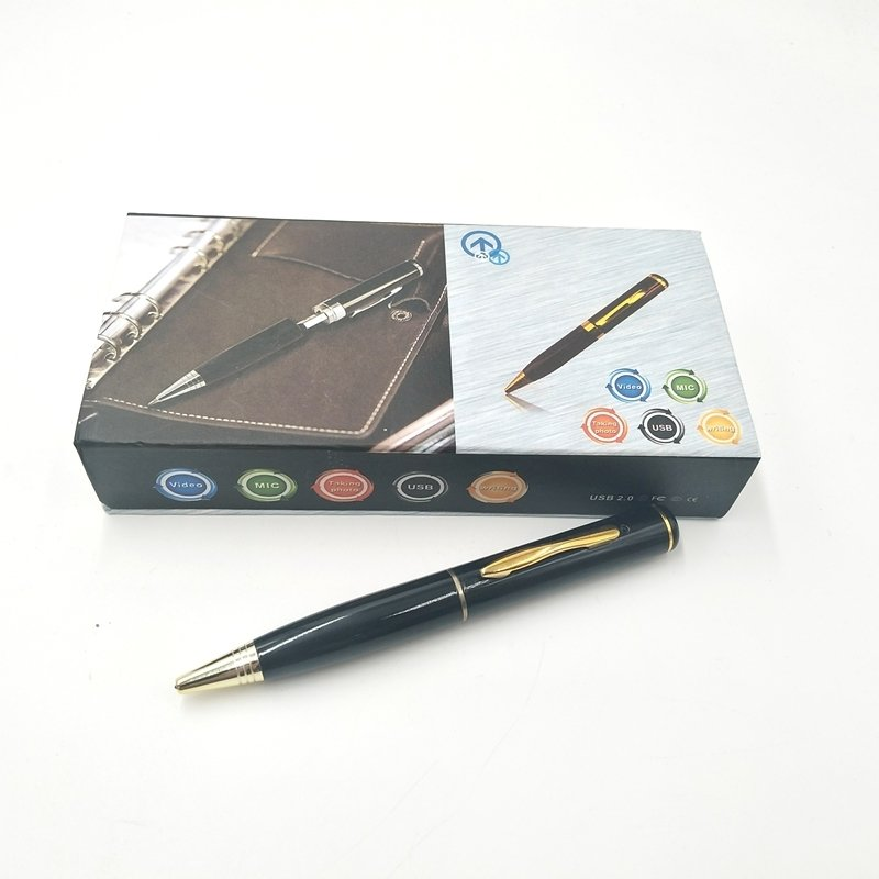 8GB 1280 x 960 HD Portable Pen Camera Video Recorder Pinhole Video DVR Cam Silver
