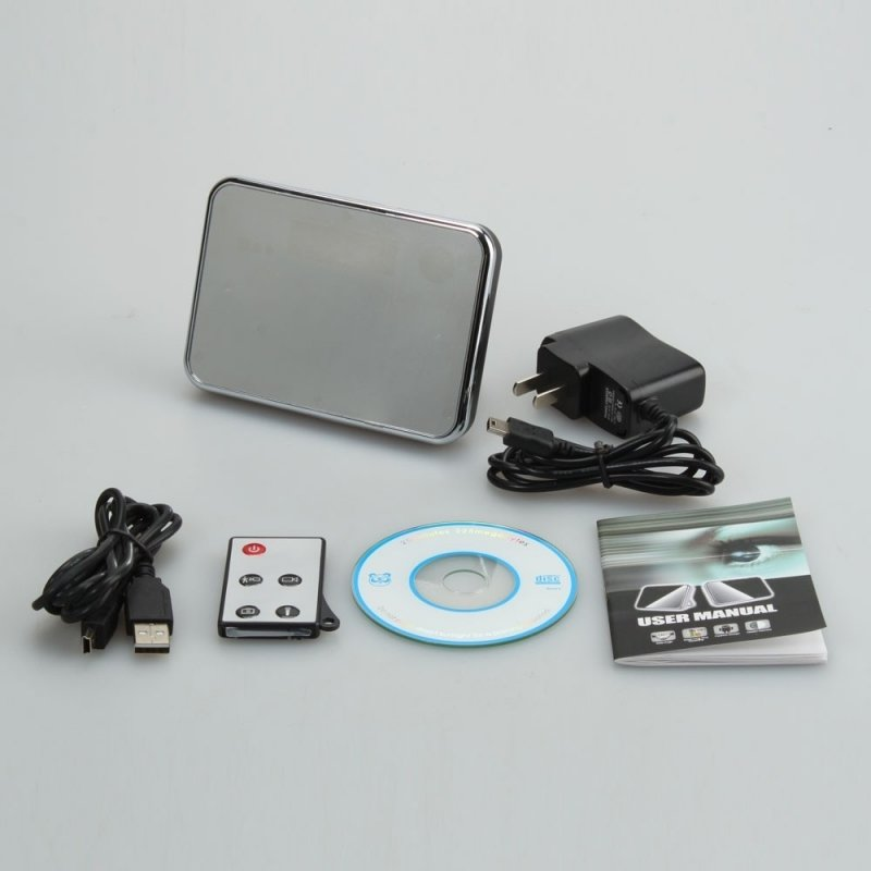 5MP Mini HD Cam Alarm Clock Video Camera DV Digital Recorder with Motion Detection